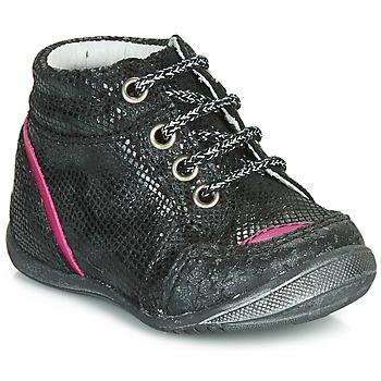 Cipők Lány Csizmák GBB LAURE Fekete