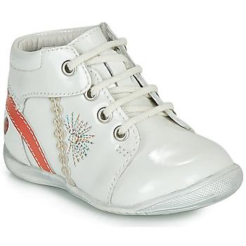 Cipők Lány Csizmák GBB MELANIE Fehér