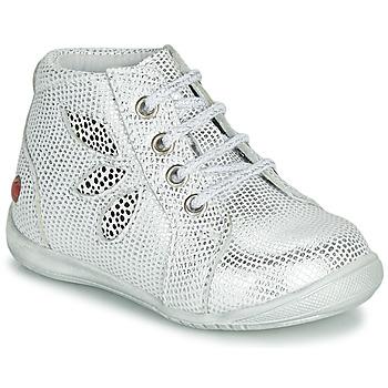 Cipők Lány Csizmák GBB MANON Fehér
