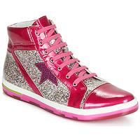 Cipők Lány Magas szárú edzőcipők Ramdam KATO Rózsaszín