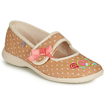 Cipők Lány Mamuszok GBB MELINA Bézs