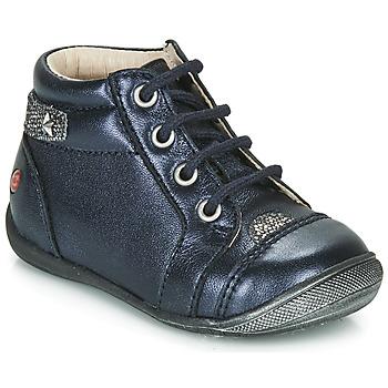 Cipők Lány Csizmák GBB NICOLE Tengerész / Ezüst