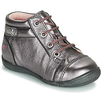 Cipők Lány Csizmák GBB NICOLE Lila / Rózsaszín