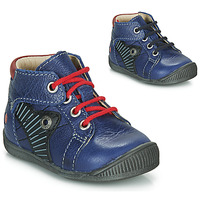 Cipők Fiú Csizmák GBB NATALE Kék / Piros