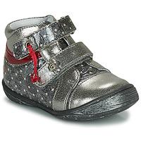 Cipők Lány Csizmák GBB NICOLINE Ezüst