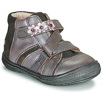 Cipők Lány Csizmák GBB NICOLETA Fa / De / Rózsaszín