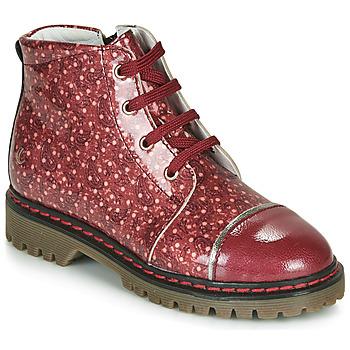 Cipők Lány Csizmák GBB NEVA Piros