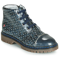 Cipők Lány Csizmák GBB NEVA Tengerész