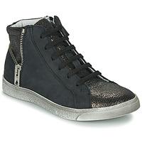 Cipők Lány Magas szárú edzőcipők Achile CARLA Fekete
