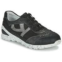 Cipők Lány Rövid szárú edzőcipők Ikks FIONA Fekete