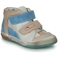 Cipők Fiú Magas szárú edzőcipők GBB PATRICK Szürke / Kék
