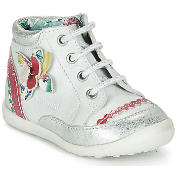 Cipők Lány Csizmák Catimini POUSSIN Fehér