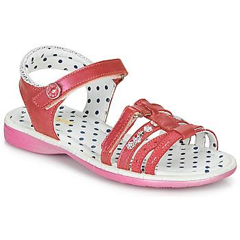 Cipők Lány Szandálok / Saruk Catimini PASTEL Rózsaszín