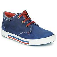 Cipők Fiú Rövid szárú edzőcipők Catimini PALETTE Kék / Piros
