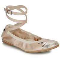 Cipők Lány Balerina cipők / babák Ikks EMILY Bézs