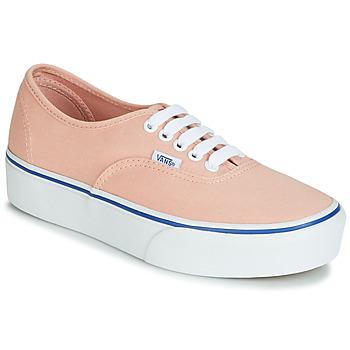 Cipők Női Rövid szárú edzőcipők Vans AUTHENTIC PLATFORM 2.0 Rózsaszín