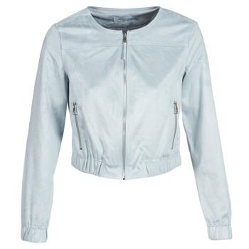 Ruhák Női Bőrkabátok / műbőr kabátok Only ONLLEONA Kék