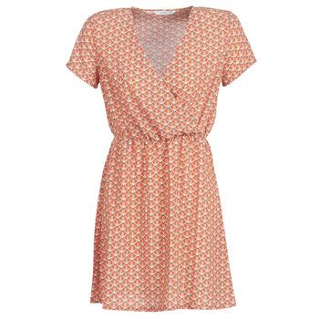 Ruhák Női Rövid ruhák Only ONLTULIPE Narancssárga