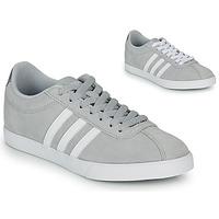 Cipők Női Rövid szárú edzőcipők adidas Originals COURTSET GRIS Szürke