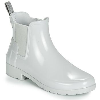 Cipők Női Gumicsizmák Hunter ORIGINAL KIDS Szürke