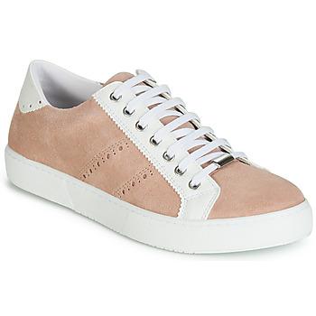 Cipők Női Rövid szárú edzőcipők André BERKELEY Bőrszínű