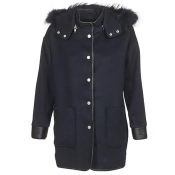Ruhák Női Kabátok Suncoo ELFIE Tengerész