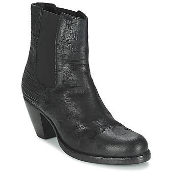 Cipők Női Bokacsizmák Fred de la Bretoniere ALMERE Fekete