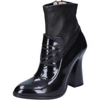 Cipők Női Bokacsizmák Roberto Botticelli Bokacsizma BS280 Fekete