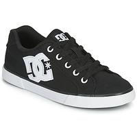 Cipők Női Deszkás cipők DC Shoes CHELSEA TX Fekete  / Fehér