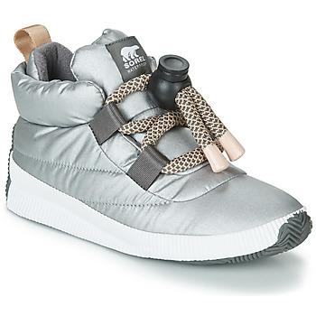 Cipők Női Csizmák Sorel OUT N ABOUT PUFFY LACE Ezüst