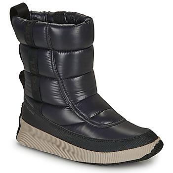 Cipők Női Hótaposók Sorel OUT N ABOUT PUFFY MID Fekete