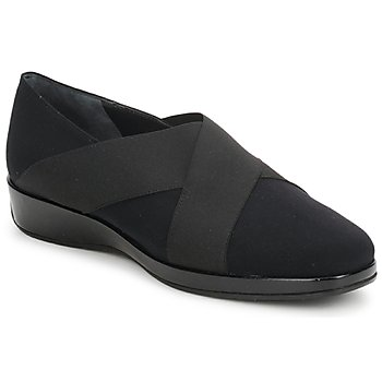 Cipők Női Mokkaszínek Amalfi by Rangoni PRETTY Fekete