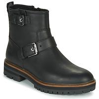 Cipők Női Csizmák Timberland LONDON SQUARE BIKER Fekete