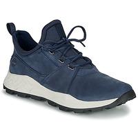 Cipők Férfi Rövid szárú edzőcipők Timberland BROOKLYN LACE OXFORD Kék