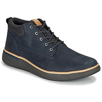 Cipők Férfi Magas szárú edzőcipők Timberland CROSS MARK PT CHUKKA Kék