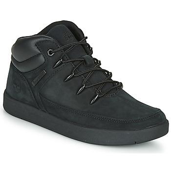 Cipők Gyerek Magas szárú edzőcipők Timberland DAVIS SQUARE TDEUROSPRINT Fekete