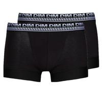Fehérnemű Férfi Boxerek DIM 3D FLEX STAY & FIT X 2 Fekete
