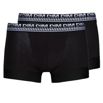 Fehérnemű Férfi Boxerek DIM 3D FLEX STAY & FIT X 3 Fekete