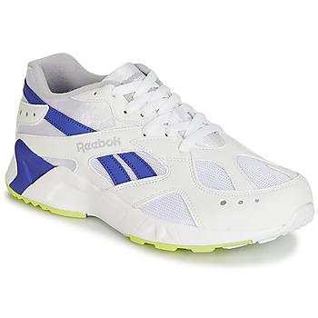 Cipők Férfi Rövid szárú edzőcipők Reebok Classic AZTREK Fehér / Kék