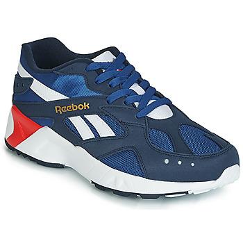 Cipők Férfi Rövid szárú edzőcipők Reebok Classic AZTREK Kék