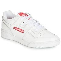 Cipők Rövid szárú edzőcipők Reebok Classic WORKOUT PLUS MU Fehér / Piros