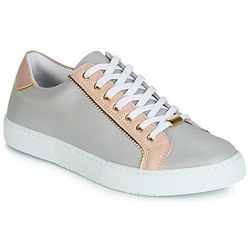 Cipők Női Rövid szárú edzőcipők André BERKELITA Szürke