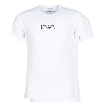 Ruhák Férfi Rövid ujjú pólók Emporio Armani CC715-111267-04712 Fehér
