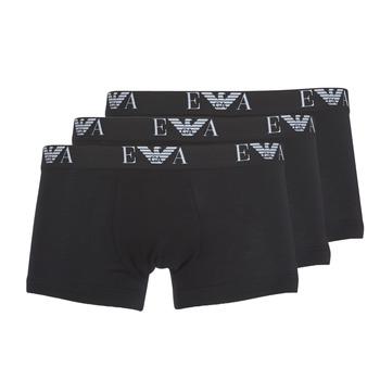 Fehérnemű Férfi Boxerek Emporio Armani CC715-111357-21320 Fekete