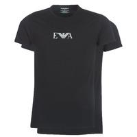 Ruhák Férfi Rövid ujjú pólók Emporio Armani CC715-111267-07320 Fekete