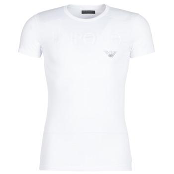 Ruhák Férfi Rövid ujjú pólók Emporio Armani CC716-111035-00010 Fehér