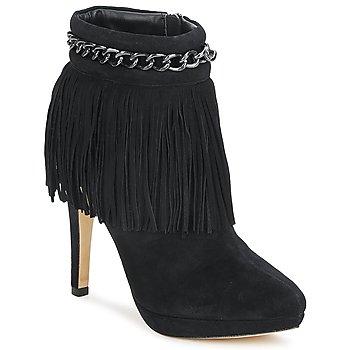 Cipők Női Bokacsizmák Bourne SANDY Fekete