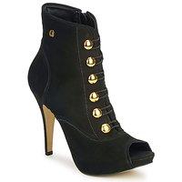 Cipők Női Bokacsizmák Carmen Steffens 6912030001 Fekete