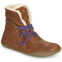Cipők Női Csizmák Camper PEU CAMI Barna