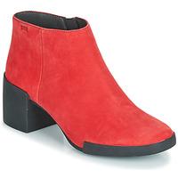 Cipők Női Bokacsizmák Camper LOTTA Piros